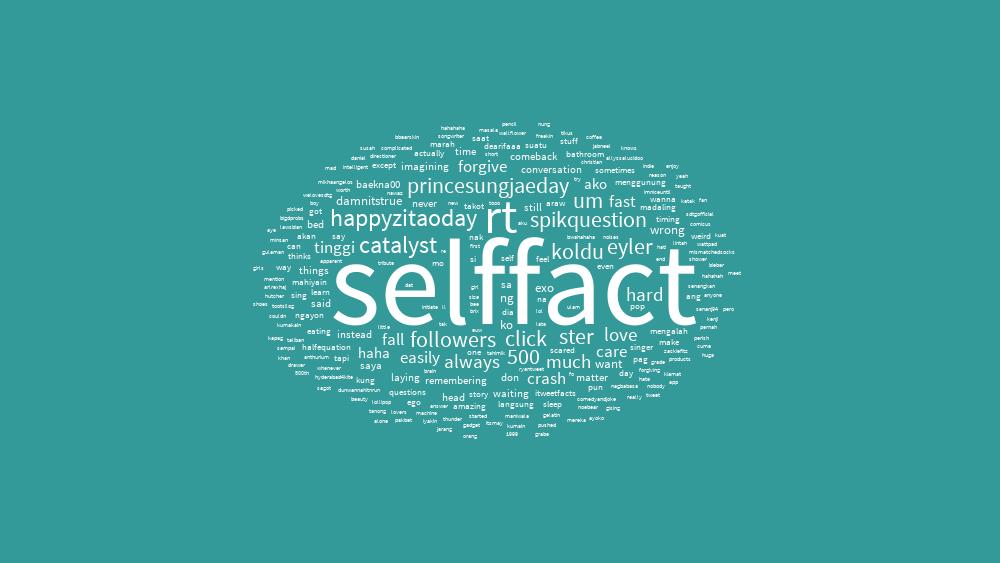 #Selffact