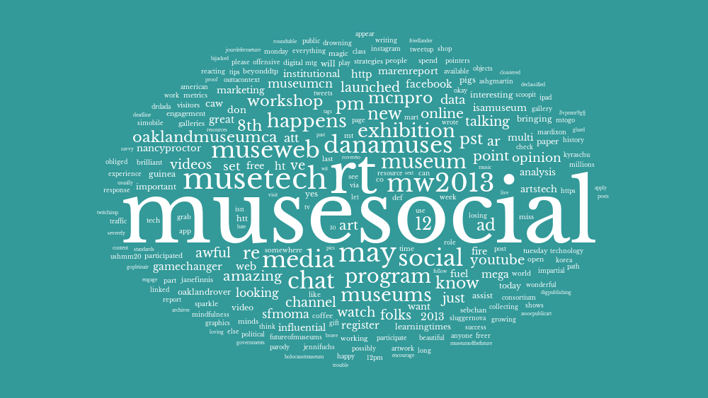 #musesocial by textal